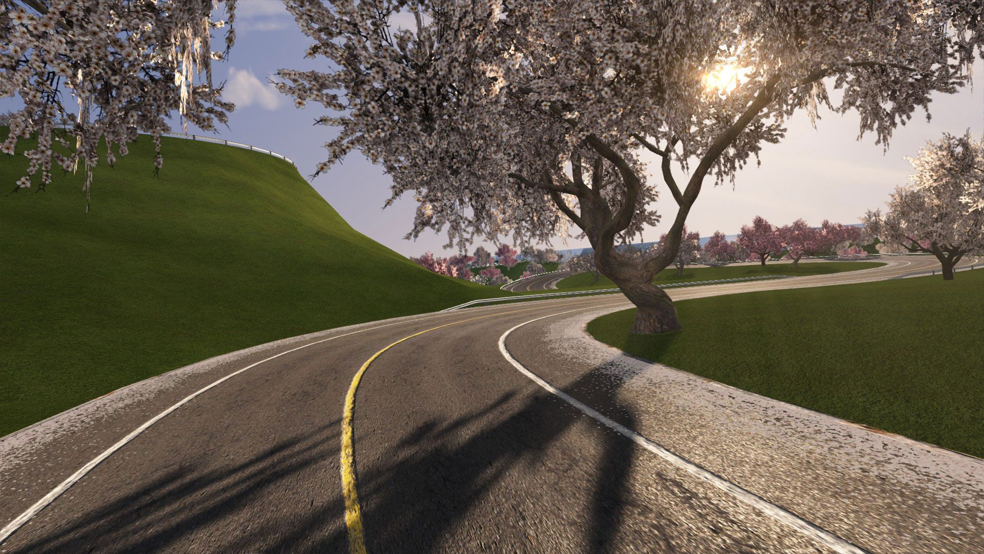Project Touge 3d Trees